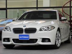 BMW523d Mスポーツ 1オーナー ACC ソフトクローズドア