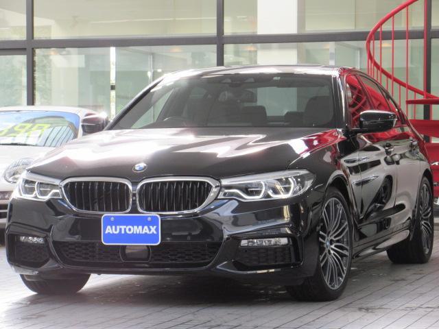 BMW 530i Mスポーツ イノベーションP 1オーナー 黒革