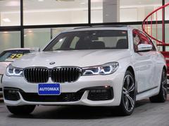 BMW740d xDrive Mスポーツ サンルーフ リアモニター