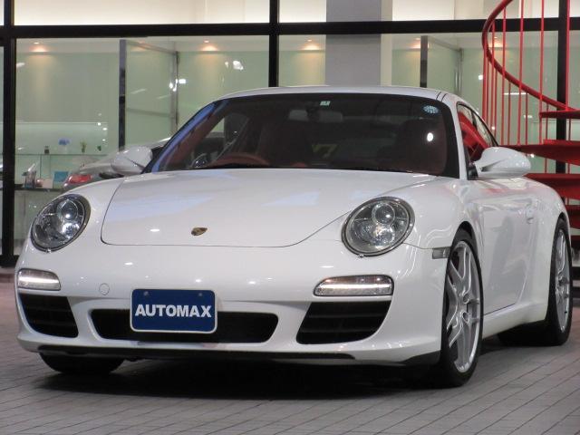 ポルシェ 911カレラS 右H PDK スポーツクロノ レッドレザー
