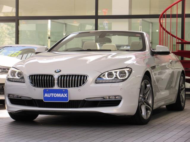 BMW 650iカブリオレ 右H コンフォートP LEDヘッドライト