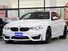 BMW M4M4クーペ 1オーナー右H Mサスペンション ブラックレザー