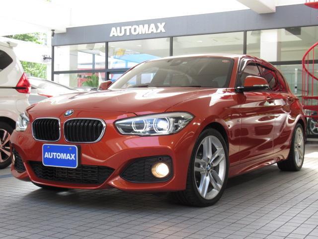 BMW 1シリーズ 118i Mスポーツ HDDナビ レザーシート 18AW