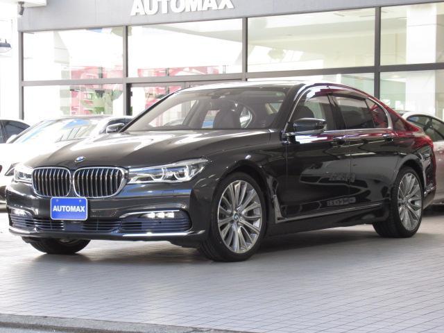 BMW 740i リアコンフォートパッケージ ガラスサンルーフ 純正20インチアルミホイール プラスパッケージ ACC ベンチレーションシート ブラックレザーシート