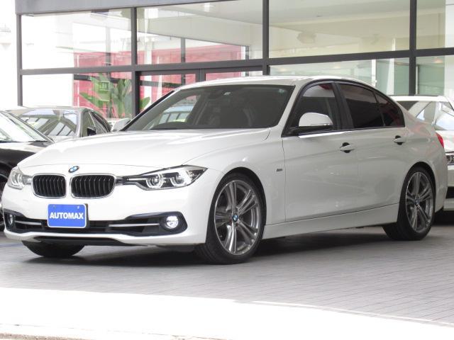 BMW 318iスポーツ 1オーナー 後期LCI  インテリジェントセーフティ 純正19インチアルミホイール リアパーキングセンサー LEDヘッドライト コンフォートアクセス 純正ナビ バックカメラ クルーズコントロール