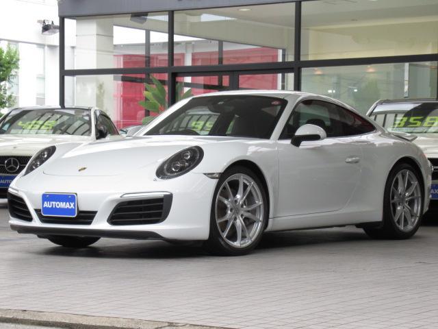 ポルシェ 911 911カレラ ディーラー車 1オーナー 右ハンドル PDK スポーツクロノパッケージ PCMナビ オールレザーインテリア バックカメラ 20AW LEDヘッドライト BOSE エントリー&ドライブ シートヒーター