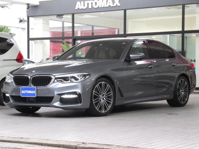 BMW 530i Mスポーツ 1オーナー Mブルーキャリパー ソフトクローズドア ジェスチャーコントロール ヘッドアップディスプレイ ベージュレザーシート 前後シートヒーター 19インチAW 前後パークディスタンスコントロール