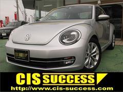 VW ザ・ビートルデザインレザーパッケージ ワンオーナー 黒革 ナビ 地デジ