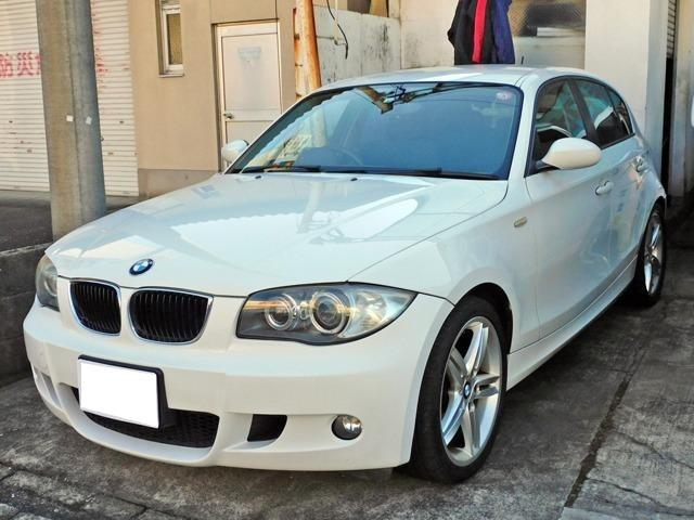 BMW 116i キーレス CD ETC HIDヘッドライト 純正アルミ