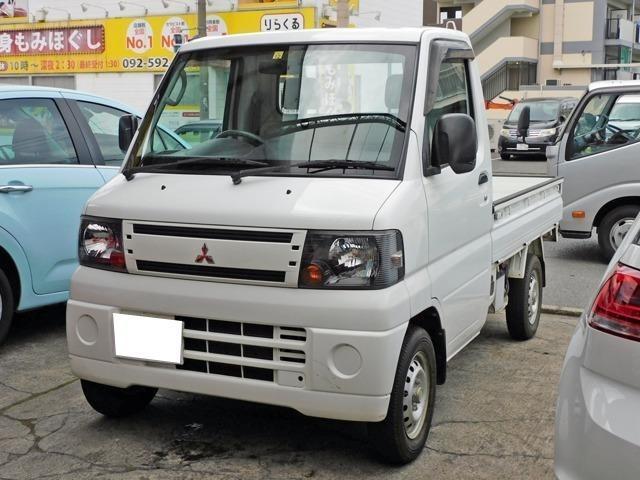 三菱 ミニキャブトラック Vタイプ エアコン パワステ ラジオ 5速マニュアル