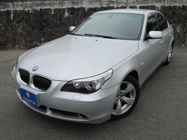 BMW 525iハイライン 黒革 HDDナビ