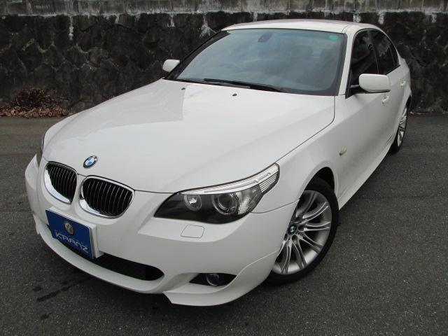 BMW 525i Mスポーツ 黒革 HDDナビ