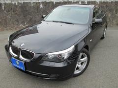 BMW525iハイライン 後期型 黒革 サンルーフ 禁煙 1オーナ