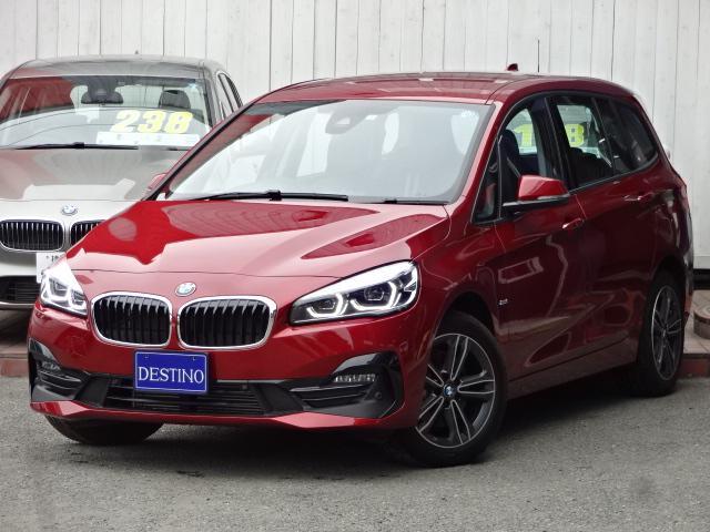 BMW 218dグランツアラー スポーツ新車保証付LCI後期モデル