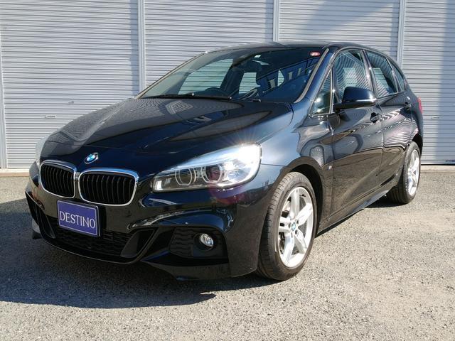 BMW 2シリーズ 218dアクティブツアラー Mスポーツ コンフォートパッケージ 純正ナビ 地デジTV Bカメラ ワンオーナー記録簿