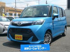 タンクX S トヨタセーフティセンサー SDナビ バックカメラ