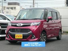 タンクカスタムG S 社外SDナビ ロングラン保証1年付