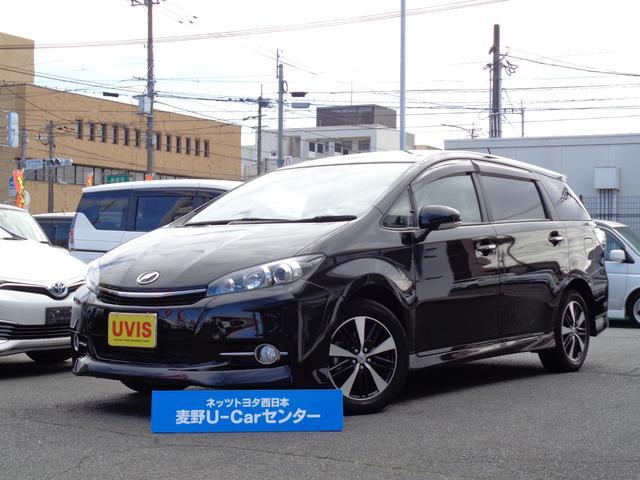 トヨタ ウィッシュ 1.8Sモノトーン 1年保証 ロングラン保証対象 後カメラ キーレス ナビTV SDナビ ETC キセノン 地デジフルセグ 3列シート