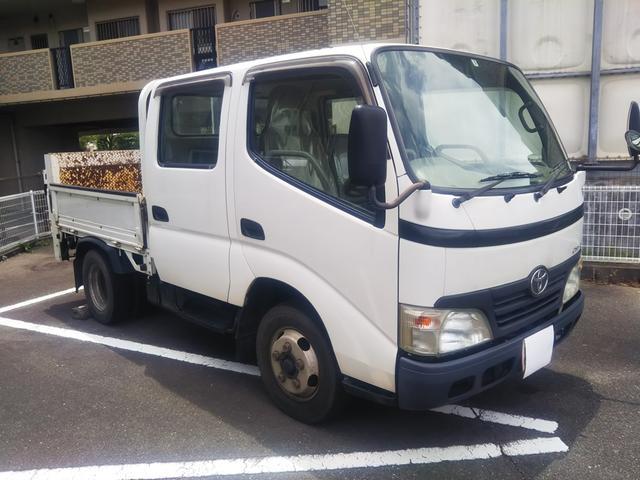 トヨタ ダイナトラック Wキャブフルジャストロー