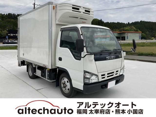 いすゞ  冷凍冷蔵庫・5MT(クラッチフリー スムーサーE)・-5℃まで冷凍・パワーゲート付き(600kg)・バックカメラ・パワーウィンドウ