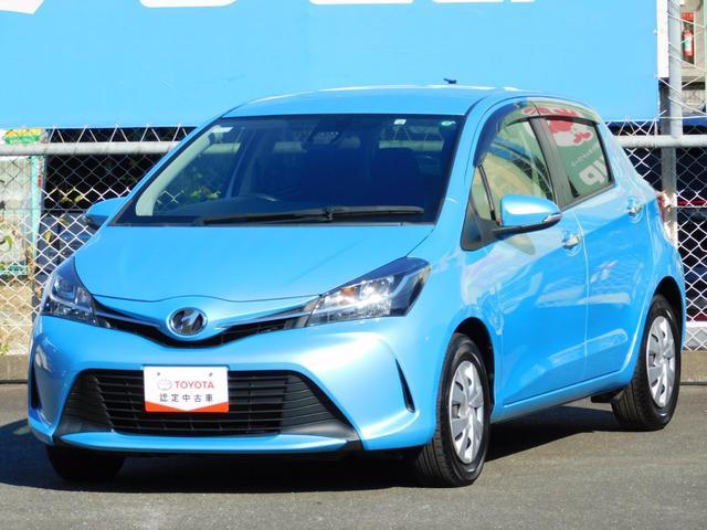 トヨタ 1.3F LEDエディション トヨタセーフティーセンス LEDヘッドランプ スマートエントリー&スタートシステム SDナビ バックガイドモニター