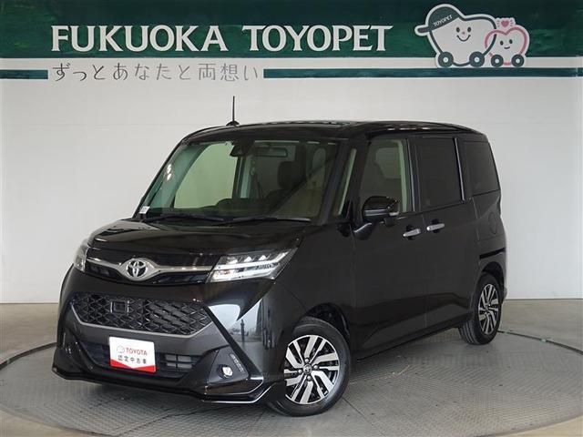 トヨタ タンク カスタムG S メモリーナビ・フルセグ・バックモニター