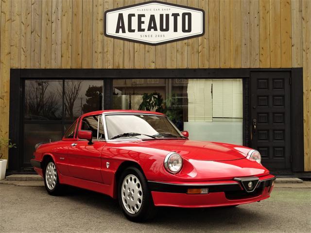 アルファロメオ クワドリフォリオ ヴェルデ クアドリフォリオ・ヴェルデ 5MT ハードトップ インジェクション車