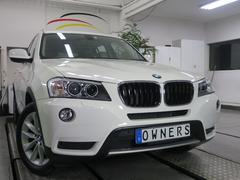 BMW X3xDrive 28i レザーシート ディーラー整備記録簿4枚