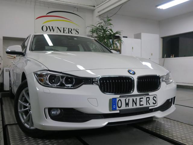 BMW 320d ナビ バックカメラ 車線逸脱警告 歩行者衝突警告