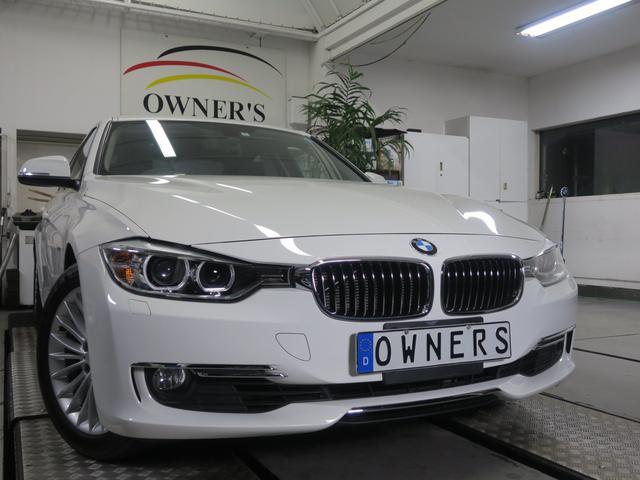 BMW 320iラグジュアリー 黒革シート 整備記録 ワンオーナー