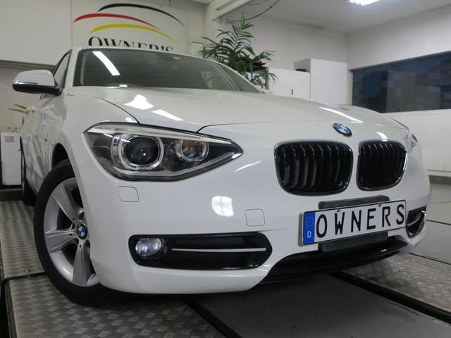 BMW 1シリーズ 116i スポーツ 専用インテリア 純正HDDナビ
