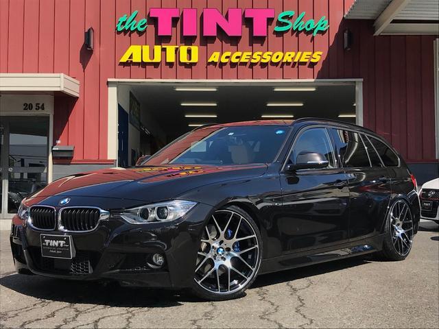 BMW 320dツーリングMスポーツ 新品20AW車高調Mブレーキ革