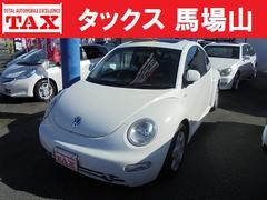 VW ニュービートルプラス サンルーフ 黒革シート ヒーター 純ナビ Bカメラ