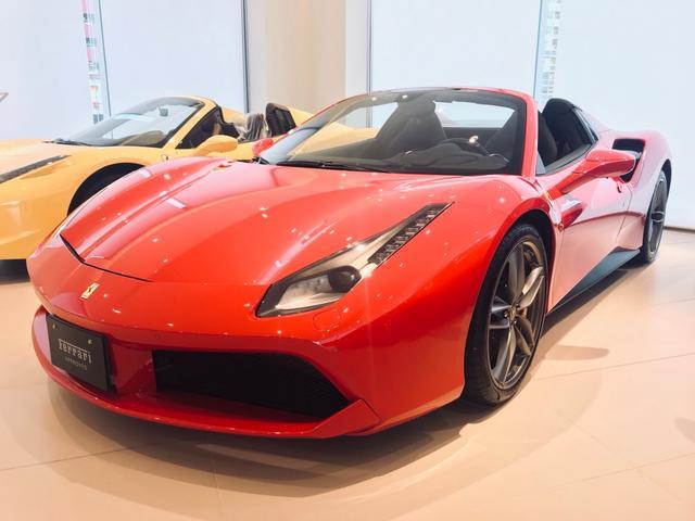 フェラーリ ディーラー車 F1DCT LHD