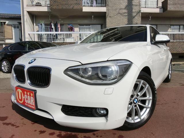 BMW 120i ディーラー車 HIDライト スマートキー 保証付