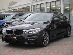 BMW523d Mスポーツ デビューP ブラックレザー HUD
