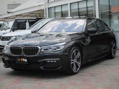 BMW750i Mスポーツ アイボリーホワイトレザー サンルーフ