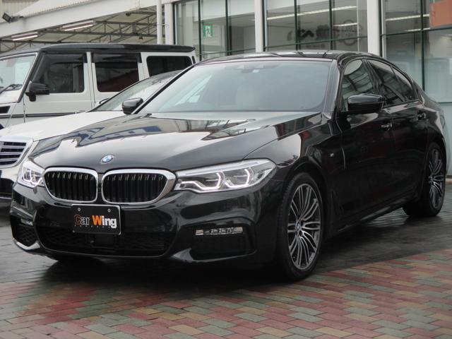 BMW 523d Mスポーツ ハイラインパッケージ ホワイトレザー