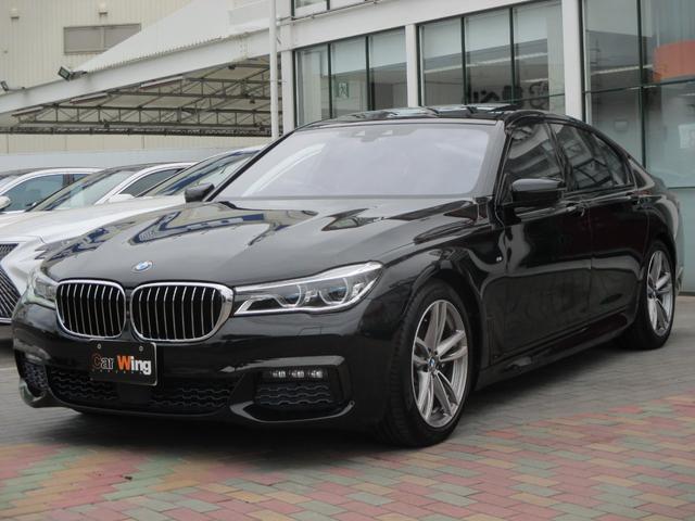 BMW 740i Mスポーツ BMWレーザーライト モカレザーシート