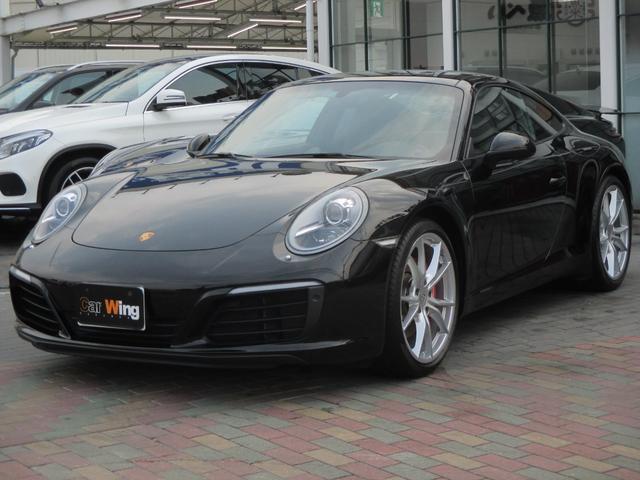 ポルシェ 911カレラS PDK スポーツクロノパッケージ スポーツエグゾースト GTスポーツステアリング リアビューカメラ パークアシスト(フロント・リア) プライバシーガラス シートヒーター ブラックレザーシート