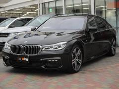 BMW750i Mスポーツ アイボリーレザー スポーツエグゾースト