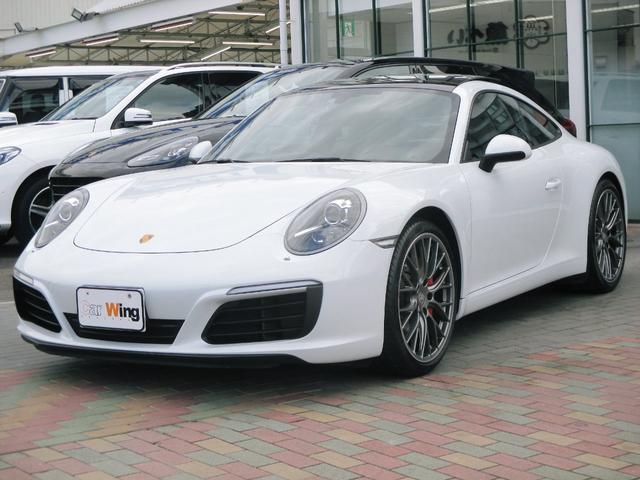 ポルシェ 911カレラS スポーツクロノ エグゾースト ガラスルーフ