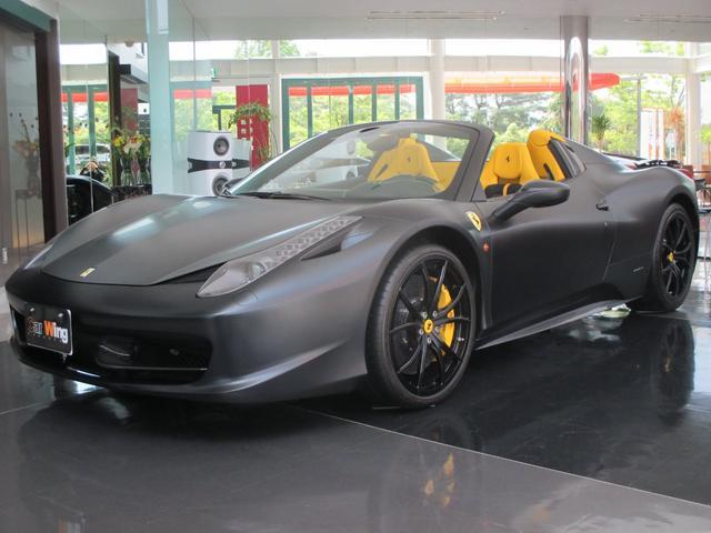 フェラーリ ベースグレード マットブラック カーボンパーツ OP20AW