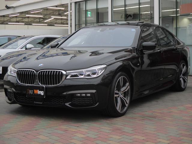 BMW 740i Mスポーツ サンルーフ 20AW レーザーLED