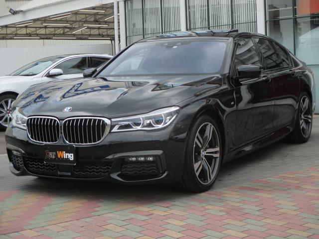 BMW 740d xDrive Mスポーツ コニャックレザー SR