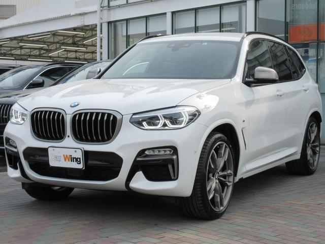 BMW M40d アクティブベンチレーションシート 純正21インチホイール ブラックレザーシート ドライビングアシスト LEDヘッドライト 純正HDDナビ 地デジTV トップビュー アンビエントライト