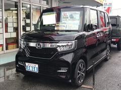 N BOXカスタムG・Lホンダセンシング 軽自動車 ETC インパネAT