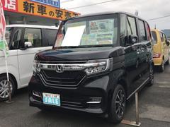 N BOXカスタムG・L 軽自動車 ETC インパネCVT エアコン AW14