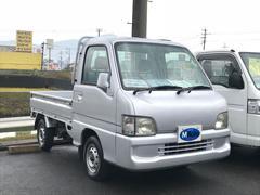 サンバートラック5速マニュアル 4WD エアコン パワステ 三方開