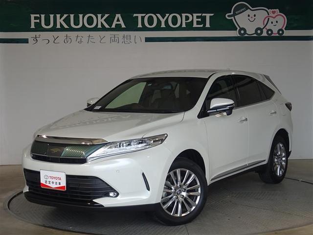 トヨタ ハリアー プレミアム メタル アンド レザーパッケージ シートエアコン